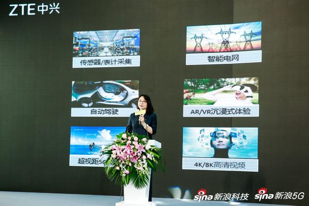 中兴通讯国内市场副总经理闫丽娟