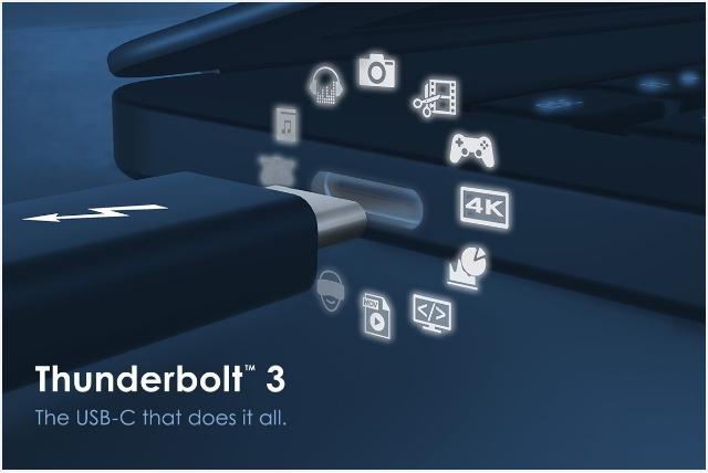 英特尔开放Thunderbolt3协议 推进新接口标准普及